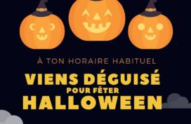 La petite enfance fête Halloween